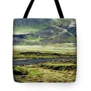 Icelandic Landscape Tote Bag