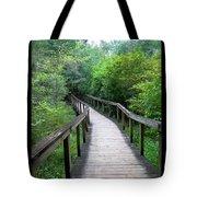 Ichetucknee Forest Pathway Tote Bag