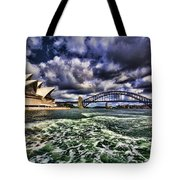 Iconic Landmarks Tote Bag