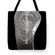 Icy Apple Smile Tote Bag