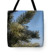 Icy Branch-7673 Tote Bag