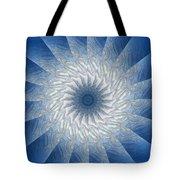Icy Mandala 7 Tote Bag