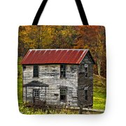 If These Walls Could Talk Painted Tote Bag