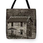 If These Walls Could Talk Sepia Tote Bag