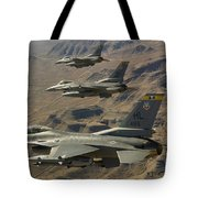 Ighter Jets Return From The Nevada Test Tote Bag