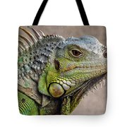Iguana Profile Tote Bag