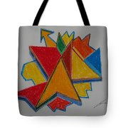 Artist Searching For Direction Tote Bag