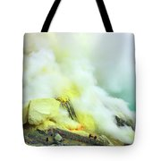 Ijen Crater Tote Bag