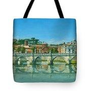Il Fiumi Tevere Roma Tote Bag