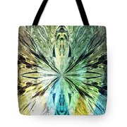 Illumination Of The Glass Butterfly Tote Bag