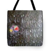 Illusion Of Black Rain Tote Bag