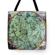 Illustration From Atlas Coelestis Tote Bag