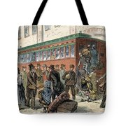 Immigrants, Nyc, 1880 Tote Bag