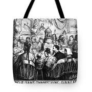 Immigration Cartoon, 1869 Tote Bag