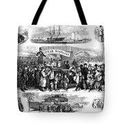 Immigration: Castle Garden Tote Bag