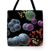 Immune Response Antibody 2 Tote Bag