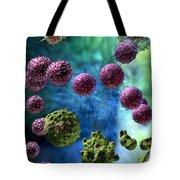 Immune Response Cytotoxic 3 Tote Bag