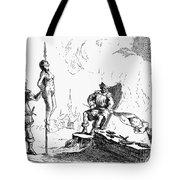 Impalement Of Waldenses Tote Bag