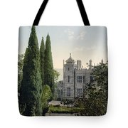 Imperial Castle In Alupku -ie Alupka -  Crimea - Russia - Ukraine Tote Bag