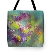 Impressionistic Abstract Tote Bag