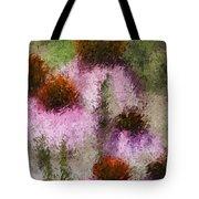 Impressionistic Cones Tote Bag