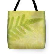 Impressions Of A Fern Tote Bag
