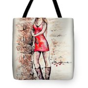 In A Moment Tote Bag