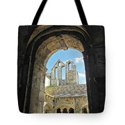 In A Monastery  Tote Bag