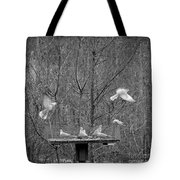 In Coming Taking Off Tote Bag