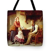 In Disgrace Tote Bag