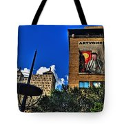 In Downtown Buffalo Tote Bag