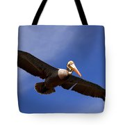In Flight Pelican Tote Bag