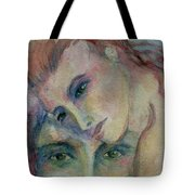 In His Eyes... Tote Bag