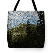 In Longing Dreams The Vision Comes Tote Bag