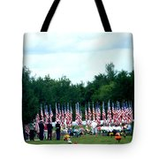In Remembrance Of 9-11 Tote Bag