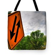 In Sync With Nature  Tote Bag