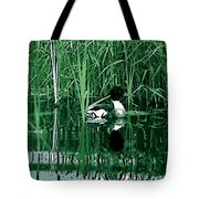 in the Bulrushes Tote Bag