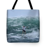 In The Center Of The Swell Tote Bag