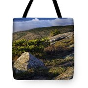 In The Clouds At Cadillac Tote Bag