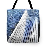 In The Cold Light Of Dawn  Tote Bag