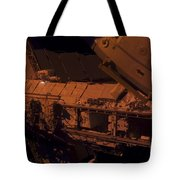 In The Darkness Of Space, An Astronaut Tote Bag by Stocktrek Images