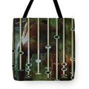 In The Garden Green Tote Bag