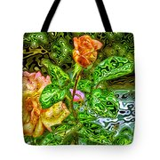 In The Garden Of Dreams Tote Bag
