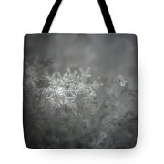 In The Garden Of The Snowflakes Tote Bag