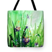In The Garden V Tote Bag