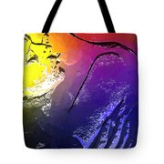 In The Heat Of The Moment Tote Bag