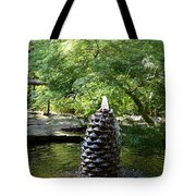In The Midst Of The Golden Pond Tote Bag