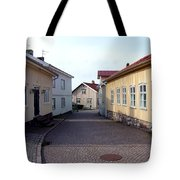 In The Old Town With New Possibilities Tote Bag