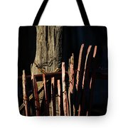 In The Shadow Of The Past Tote Bag