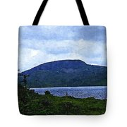 In The Shelter Of The Blue Cliff 2 Tote Bag